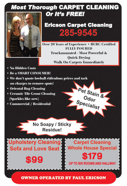 Ericson Carpet Cleaning Holly Springs Carpet Cleaning